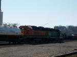BNSF 2357 and BNSF 1534 switching