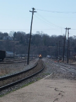 BNSF 8825 coming our way pulling an empty coal drag.