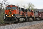 BNSF 1031 headed west toward Tulsa