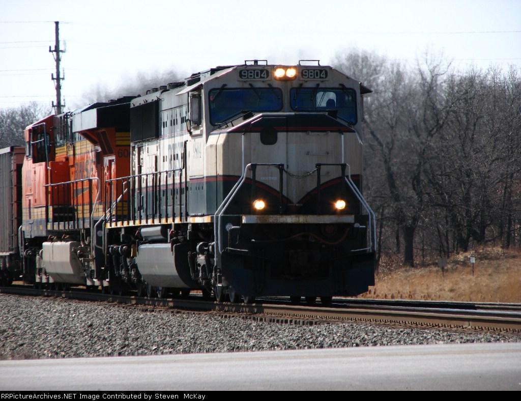 BNSF 9804