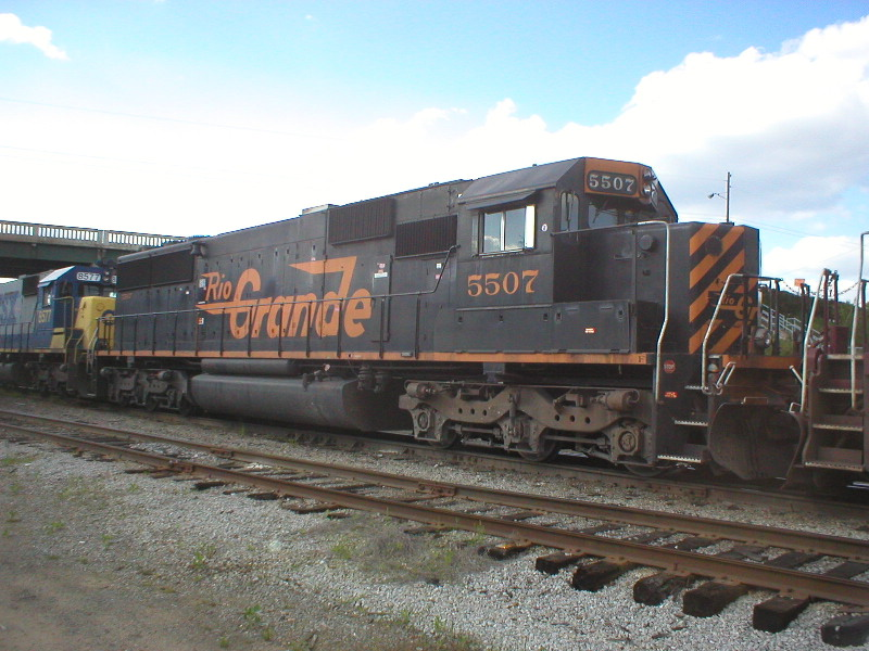 DRWG 5507 on a CSX NB freight.