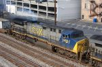 Looks like some oil burning on CSX 603