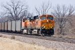 Eastbound Coal LoadsBNSF 6086