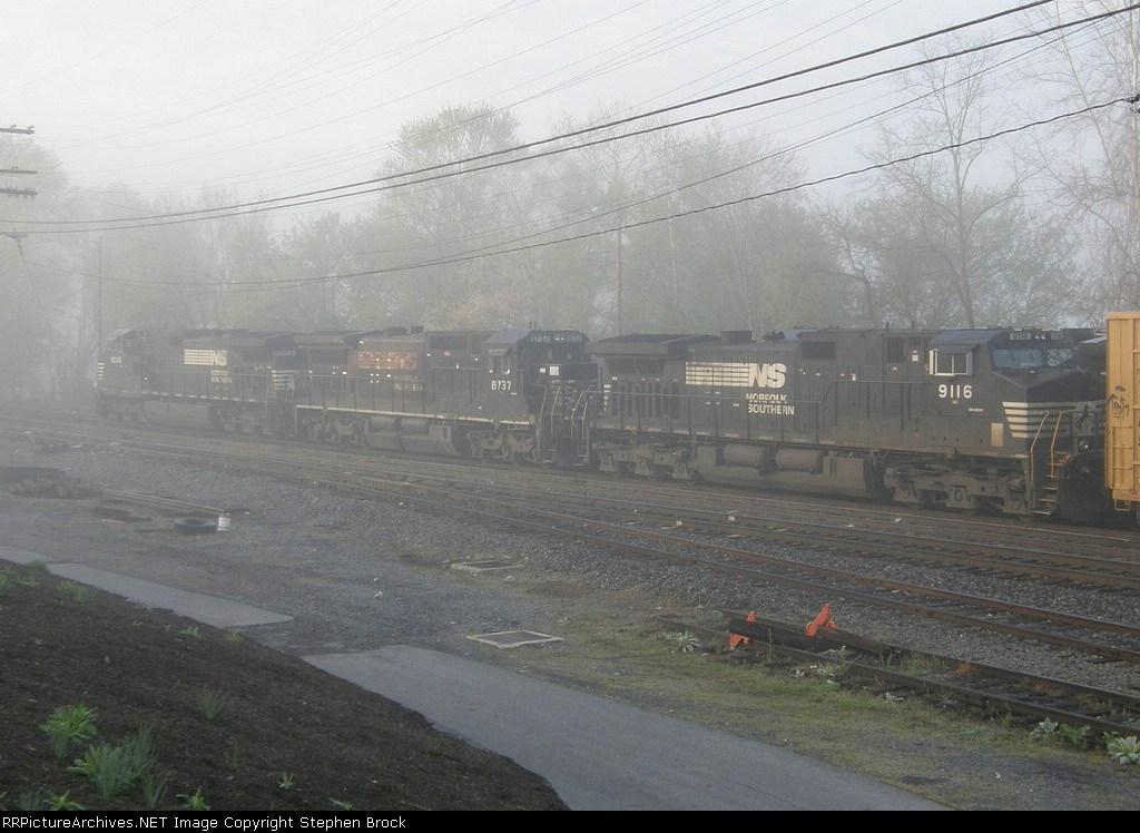 NS 9116, 8737 & 9045