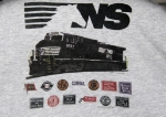 NS 9757 on a T-Shirt