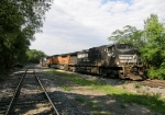 NS 9267, BNSF 5309 & NS 9326 are all sleeping