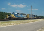 CSX 4607 and 2461