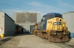 CSXT 7677 at Hamlet Shop