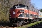 Southern Railroad Company of New Jersey F7A 727