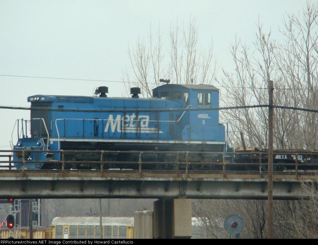 Metra Sw 1500 on the fmr Rock Island @ Blue Island