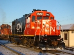 Newly re built and re painted IC Gp38-2 @ Hawthorwne Yd