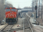 CN Ethanol train @ the Austin cross overs