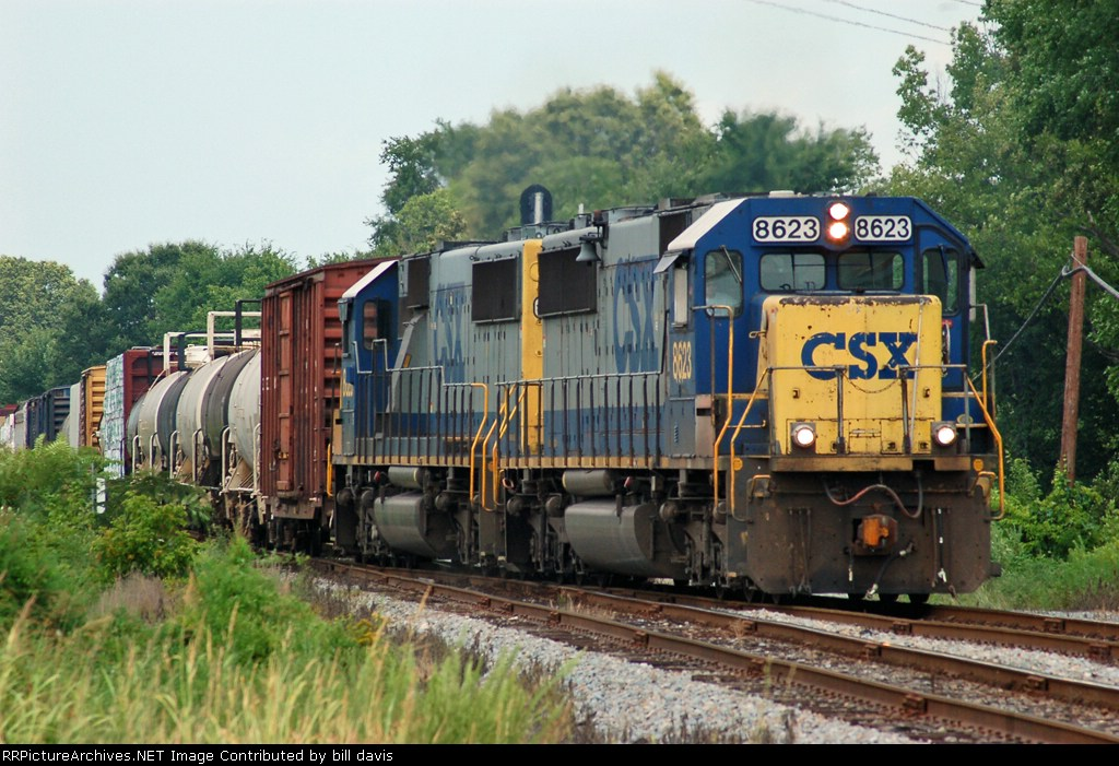 Two Old EMD's are the power