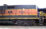 BNSF 1700 detail