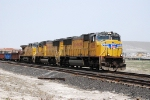 South bound manifest train on Mesa siding main