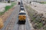 North bound coal train on Mesa siding