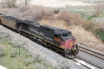 Pusher on north bound coal train