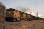 North bound coal train at Geneva Crossover