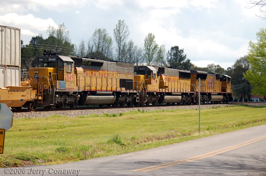 UP Stack Train