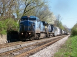 CSX 7923 on Q542 Northbound