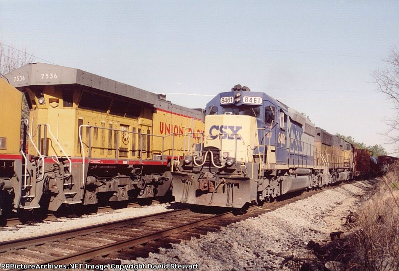 Q615/CSX 8461