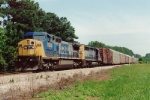 Q213/CSX 7868  Note, odd road number stenciling