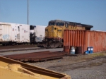 Unit set out at Russellville after one axle derailing near Lamar-front pilot contacted rails