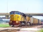 UP 8070 SD9043MAC WB Coal Empties