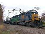 CSX 8115 on BNSF