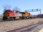 BNSF 137 WB Baretable