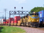 Pair of UP SD70ACes