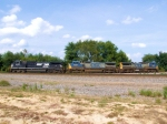 NS/CSX/CSX on the BNSF Aurora Division