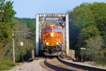BNSF 7283 Crossing the Rock River