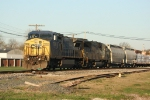 EB CSX 7834 at the diamond at Odin, IL..