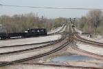 NS 5100, 5167 in TRRA yard