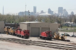 TRRA 1506, 1504 and UP 5338 in the yard