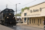 The Gadsden Times get a close view of the local Shortline.