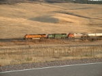 BNSF 7670 Rainbow!