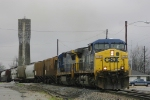 Southbound Freight rumbles through town