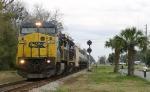 Q605 rolls out of the siding
