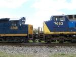 CSX 2248 & CSX 7663