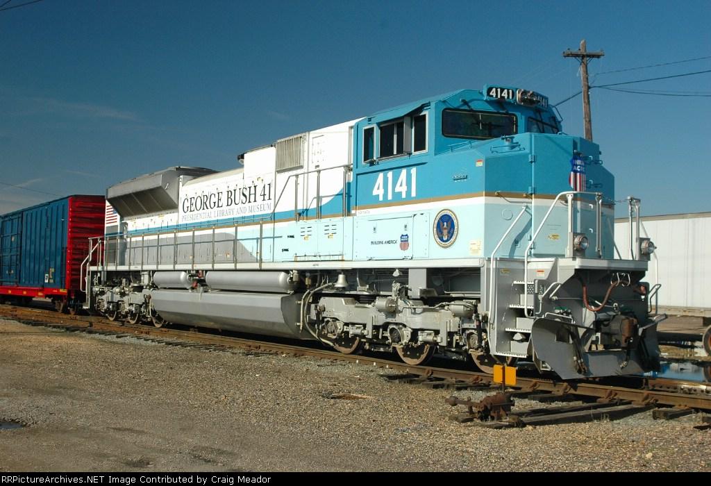 The George Bush Engine At Poplar Bluff
