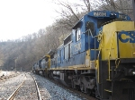 CSX 7510, 7525, and 7588 waiting to go to Corbin
