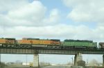 BNSF 3020 and 5283