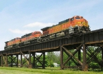 BNSF 4135, 6795 and 4341