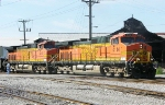 BNSF 4144 and 4141