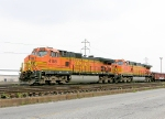 BNSF 4158 and 4142
