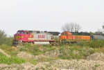 BNSF 714 and 3031