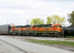 BNSF 2305, 6136 and 6128