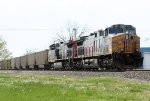 KCS 4577 leading north bound empty coal train